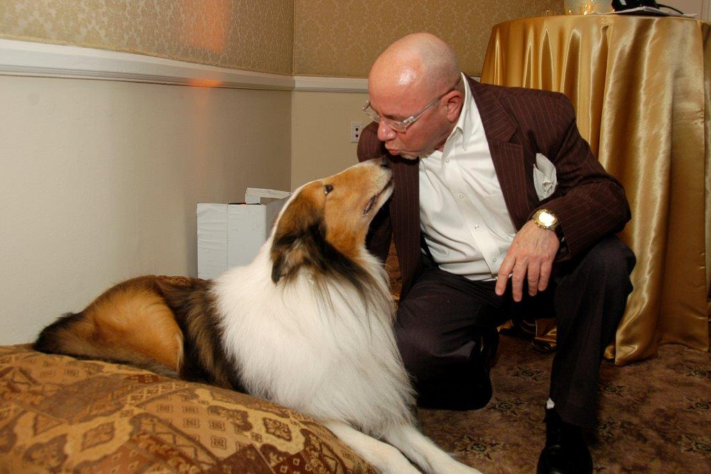 Jerry Digney and Lassie