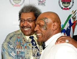 Don King and Mike Tyson