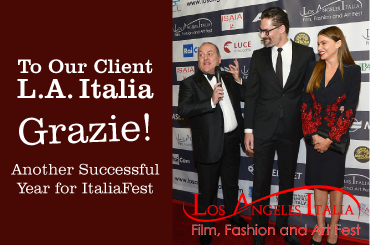 Another Successful Year for L.A. ItaliaFest