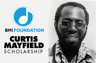 Curtis Mayfield BMI Foundation Scholarship
